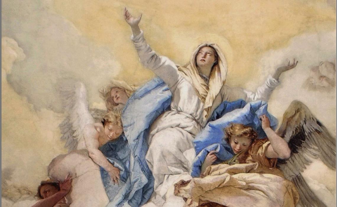 Giambattista Tiepolo, Assunzione di Maria Vergine, Affresco, 1759, Oratorio della Purità, Udine